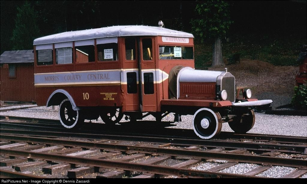 Restored Railbus stored on the Morristown & Erie R (With