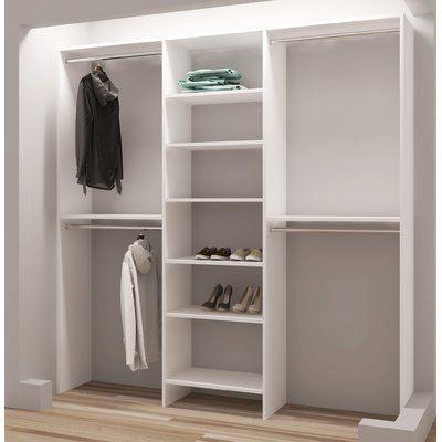 Tidysquares Inc Demure Design 81 W Closet System 81w Closet
