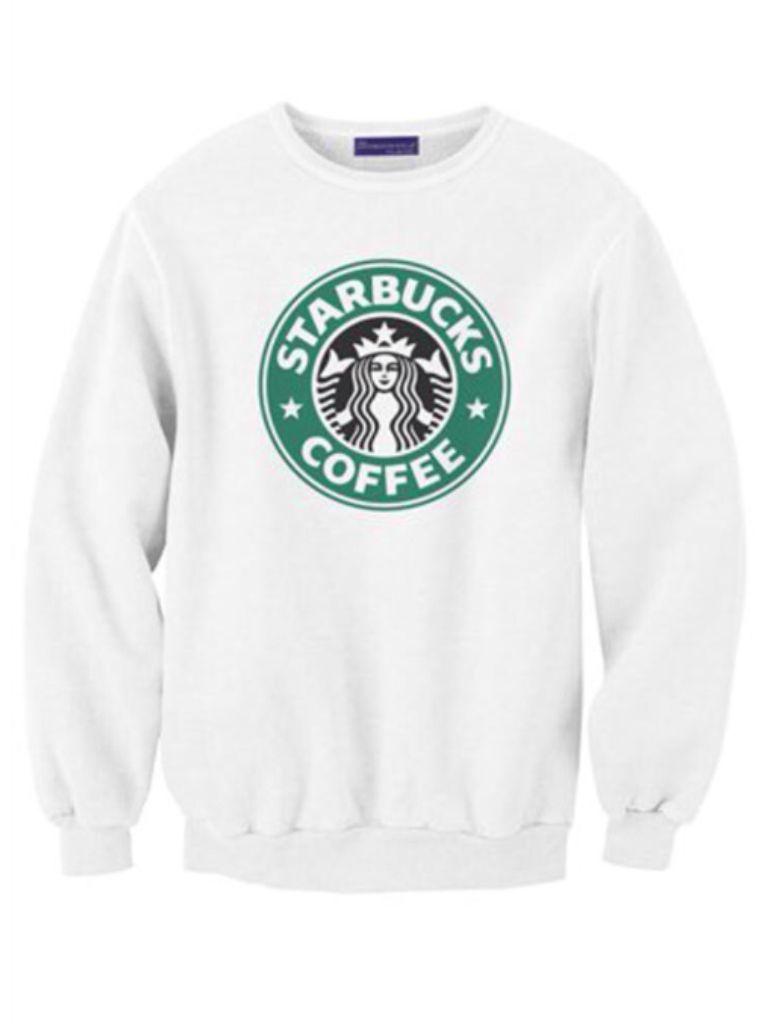 Starbucks Crew Neck Starbucks Shirt Starbucks Outfit Starbucks [ 1024 x 768 Pixel ]