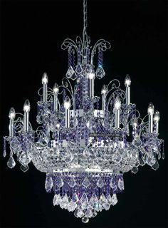 Amazing Chandeliers Different Shapes And Colors But All Gorgeous
