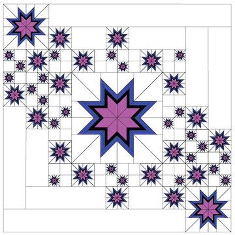 Floating Star Elations Pattern Foundation Paper Piecing Patterns Star Quilt Patterns Paper Piecing Patterns