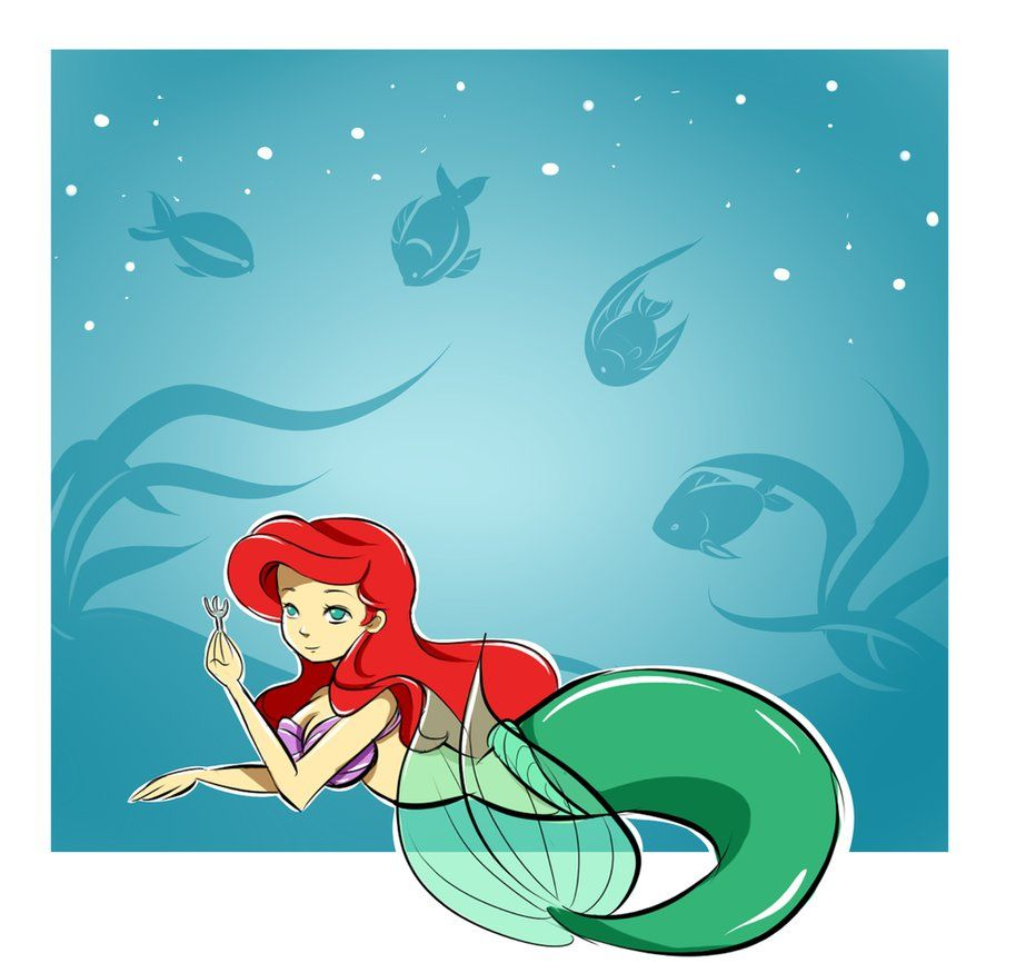 Ariel by kattugglan on deviantART