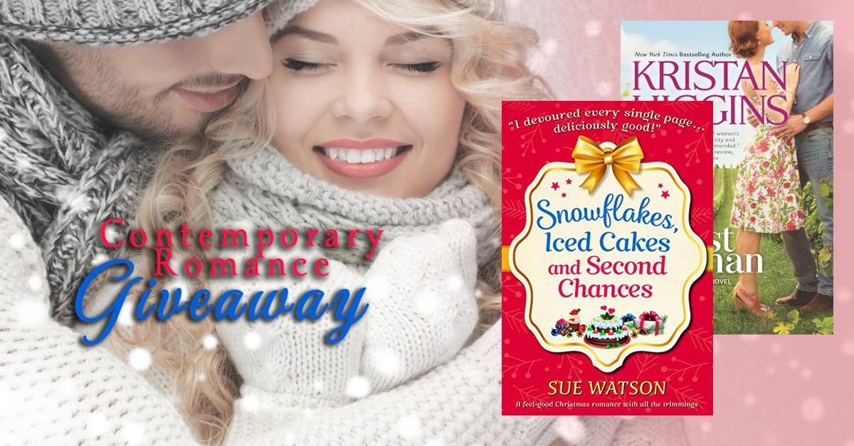 fd9b9b507bc4  Contemporary  Romance  Giveaway –  Win 2  ContemporaryRomance Novels!   FREEbooks