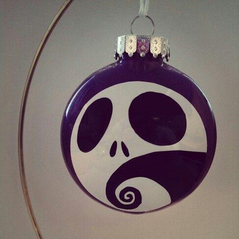 A nightmare before christmas ornament christmas - Jack skellington christmas decorations ...
