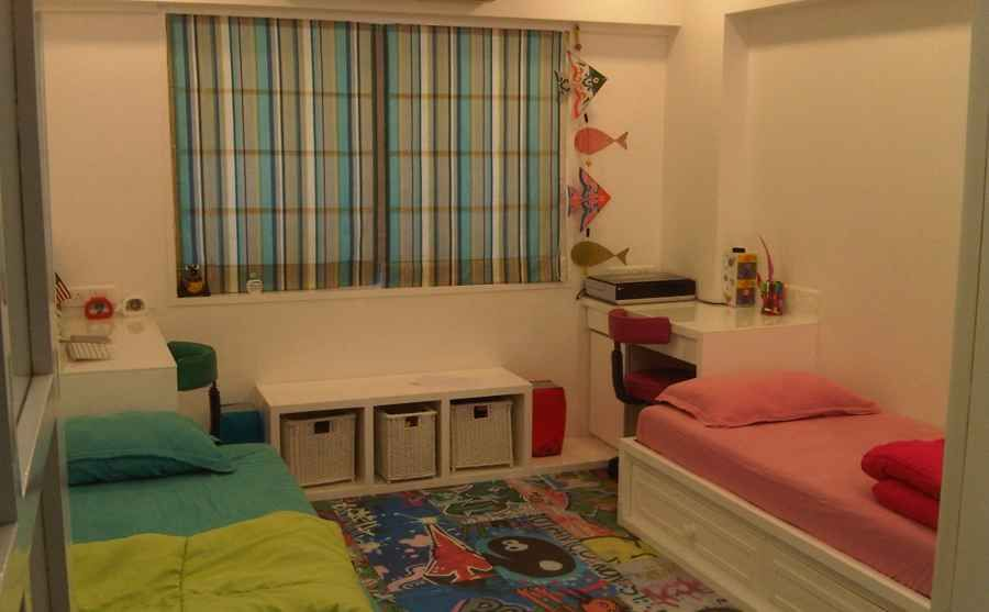 2 Bhk Apt At Bandra By Shahen Mistry Interior Designer In Mumbai Maharashtra India Kids Interior Room Kids Room Interior Design Kids Bedroom Designs