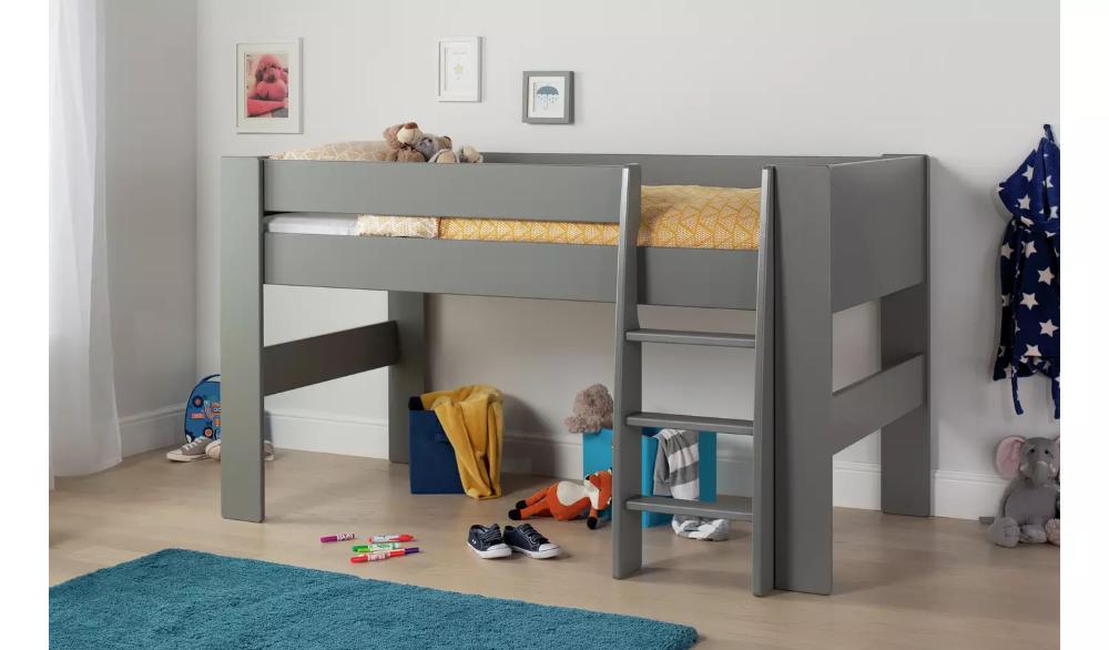 Buy Argos Home Memphis Mid Sleeper Bed Frame Grey Kids