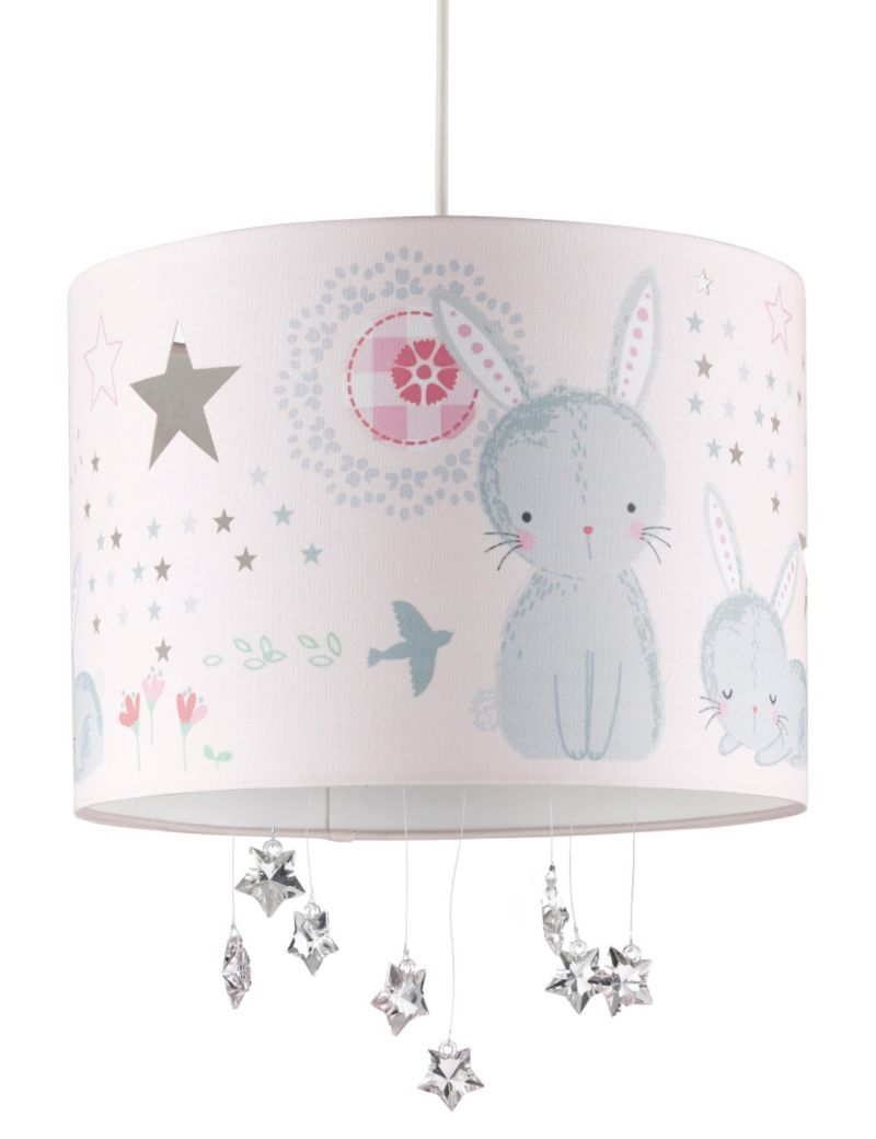 Baby rabbit ceiling lamp shade ms girls room pinterest baby rabbit ceiling lamp shade ms aloadofball Gallery