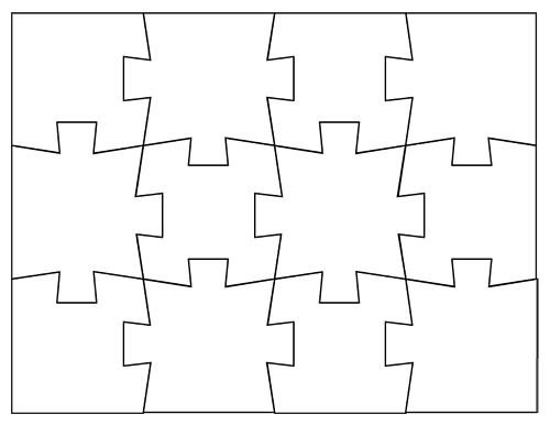 Pin By Jolanda Ri On Cocuklar Icin Yap Boz Etkinlikleri Puzzle Piece Template Printable Puzzles Jigsaw Puzzles