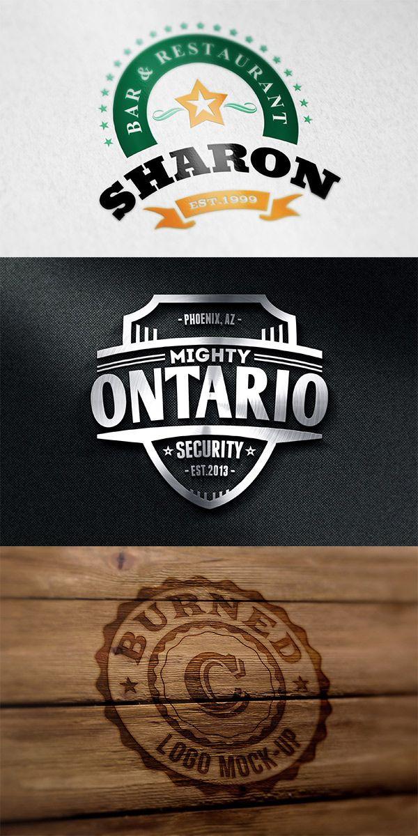 105 Amazing Logo Mockups Free Premium Free Logo Mockup Free Logo Psd Logo Psd