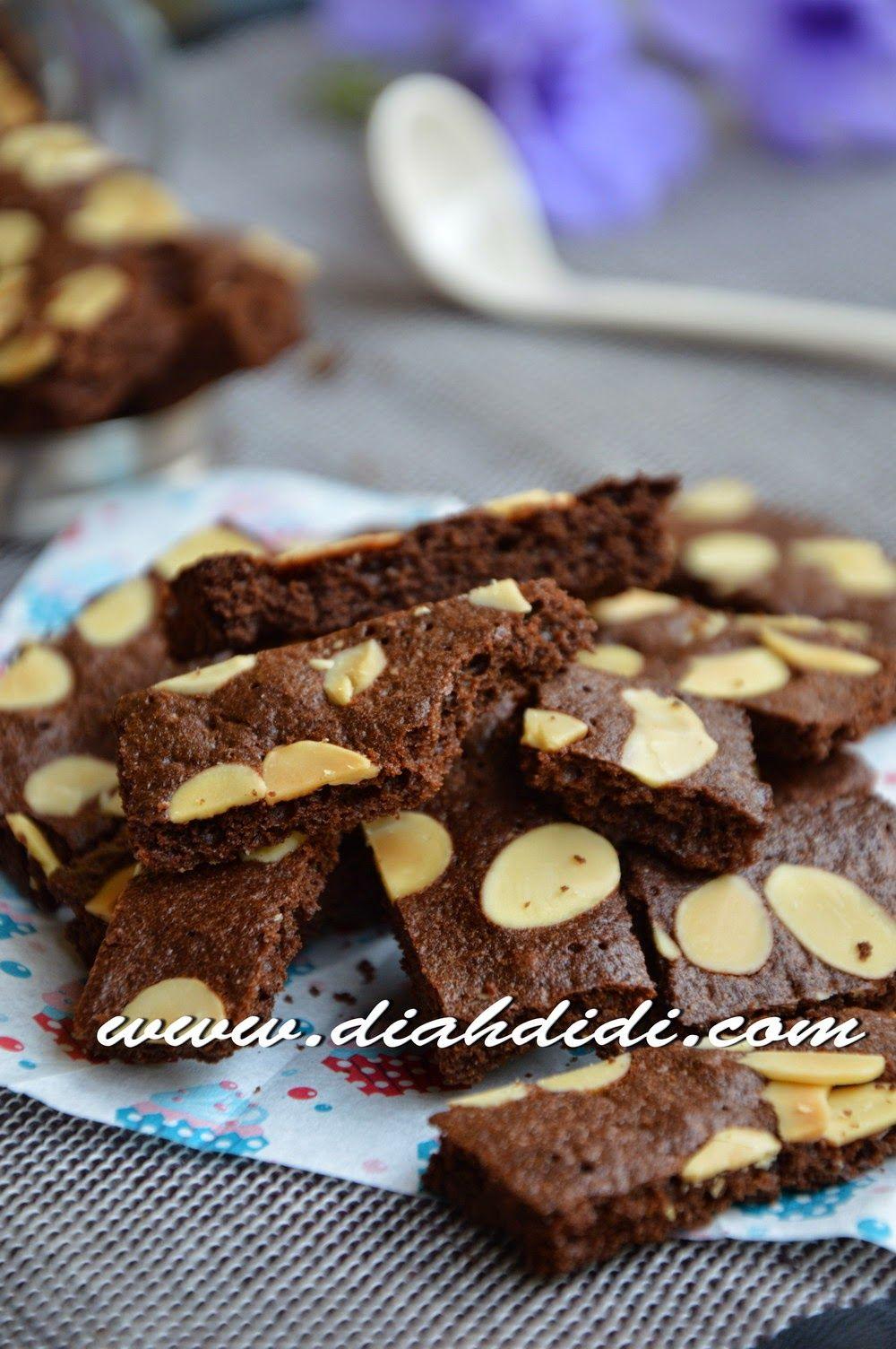 Brownies Cookies Praktis Di 2020 Brownie Cookies Kue Lezat Makanan