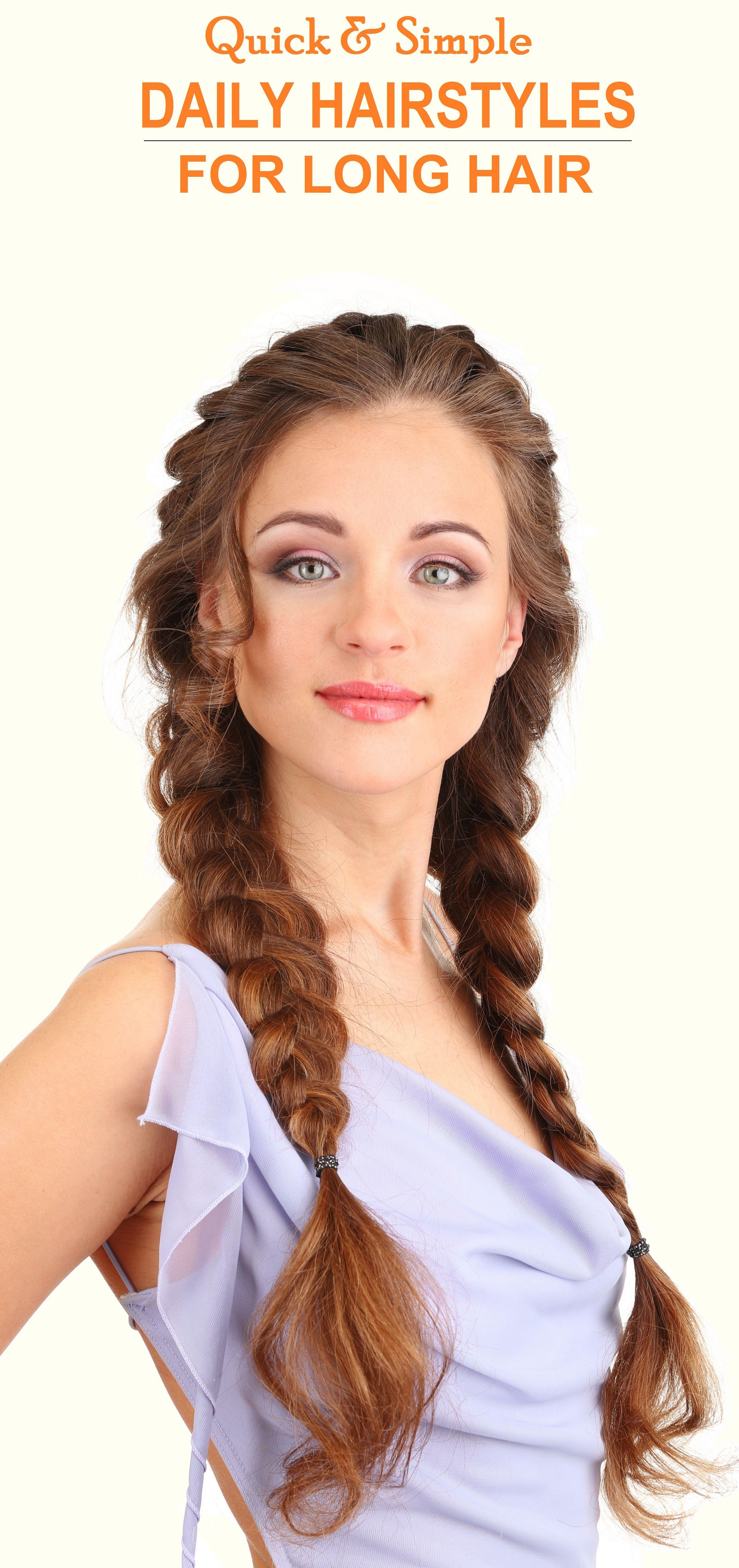 100 Cute Easy Summer Hairstyles For Long Hair Daily Hairstyles Summer Hairstyles Long Hair Styles