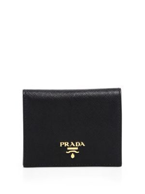c43a980dc414 PRADA Mini Saffiano Leather Bifold Wallet. #prada #bags #leather #wallet # accessories #lining # | Prada | Pinterest | Leather wallets, Minis and  Leather