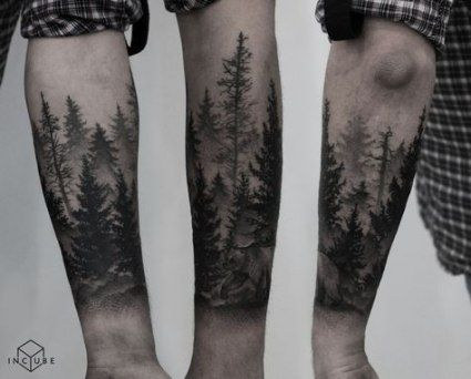 Photo of Tattoo mountain forest nature 23 ideas
