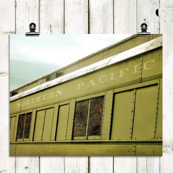 train photography train large wall art by MTPhotoJournal on Etsy, $12.00