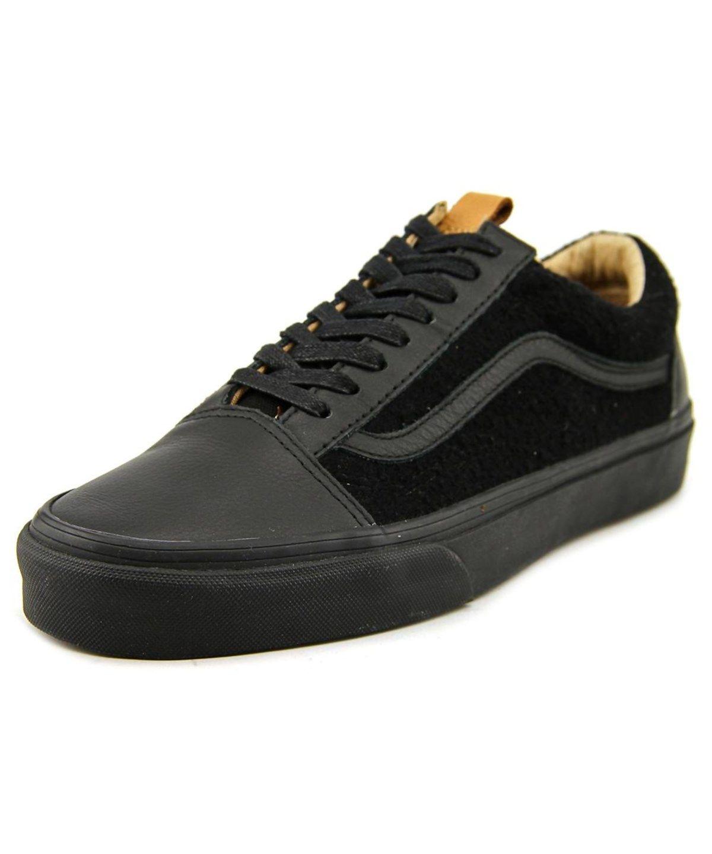 vans california old skool reissue black leather