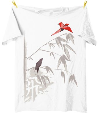 Origami inspired tshirt design at captainkyso remeras pinterest origami inspired tshirt design at captainkyso thecheapjerseys Choice Image