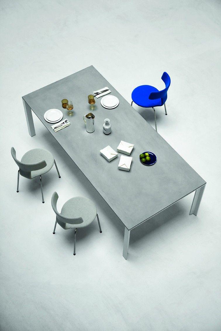 Apta Tisch 180x90 Bei Desigano Com Betontisch Weisse Tischplatte Design Tisch
