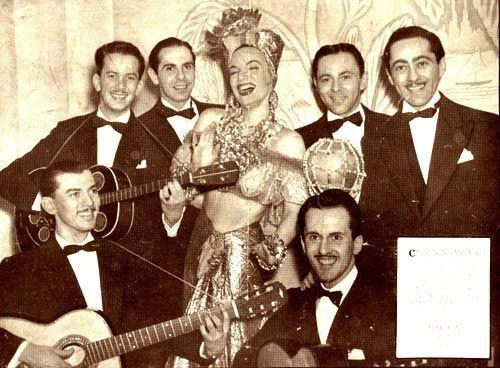 Carmen Miranda no Cassino da Urca