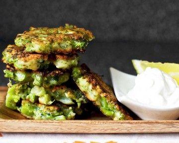 Brócoli a la parmesana