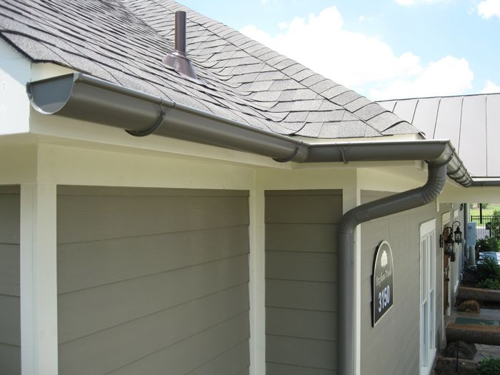Gutters And Downspouts Color Options For A New Rain