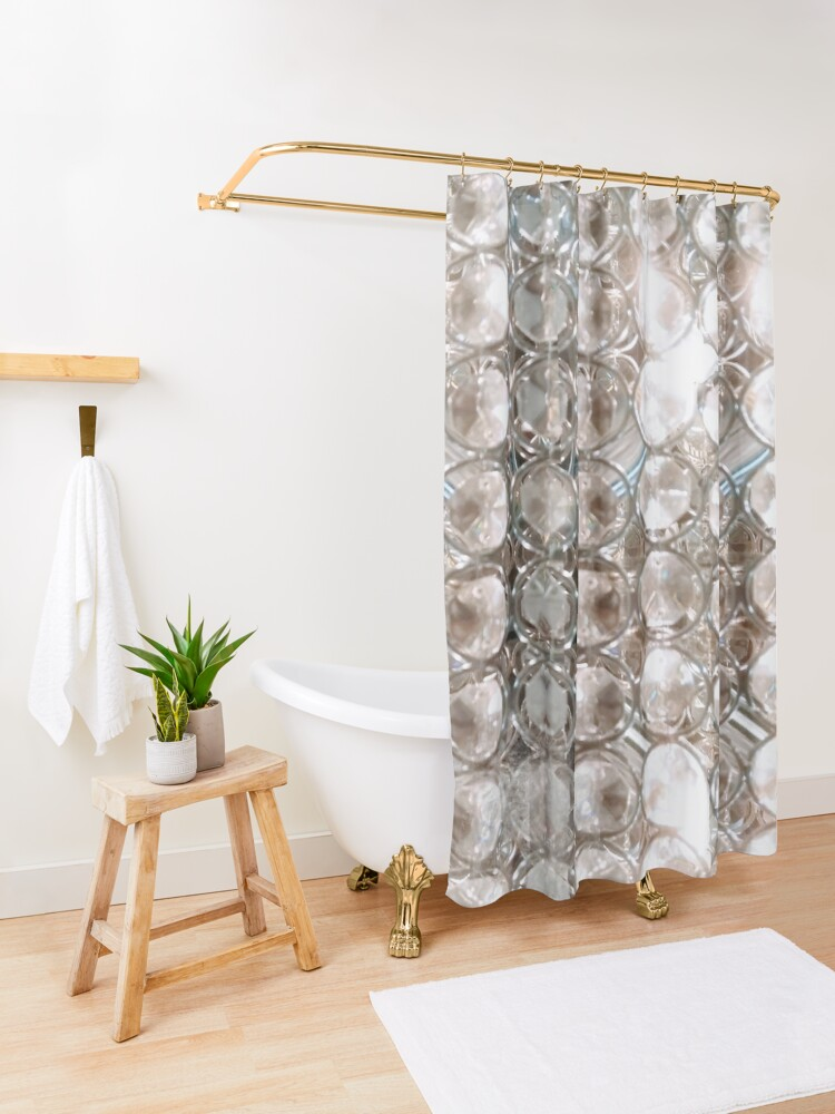 Bright Crystals And Lights Shower Curtain By Crazycraftlady