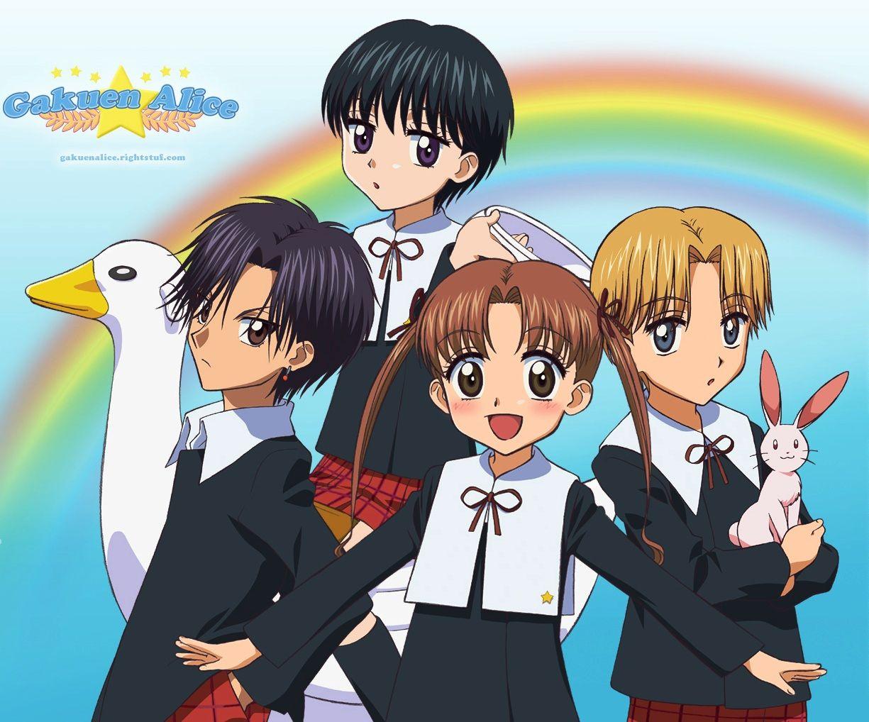 Hyuuga Natsume, Imai Hotaru, Nogi Ruka, Sakura Mikan