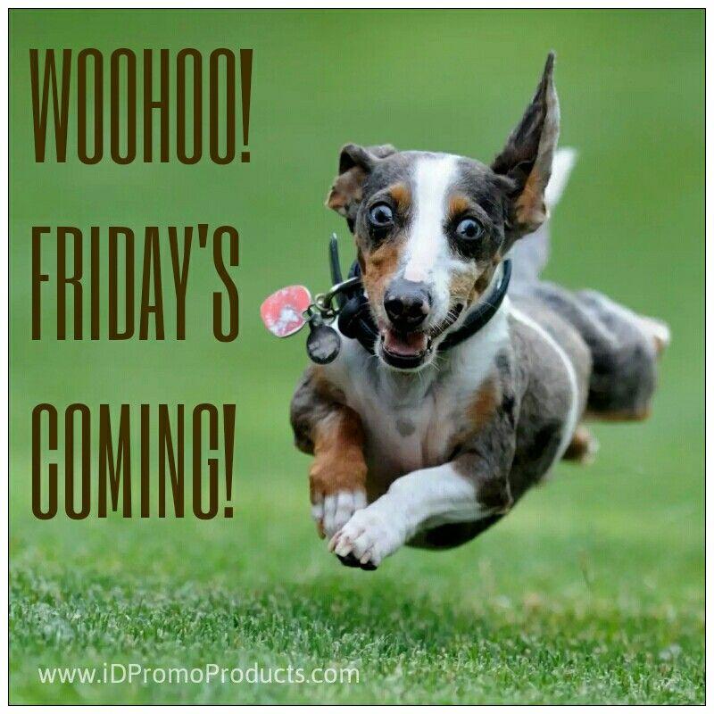 Woohoo!  Friday's Coming!