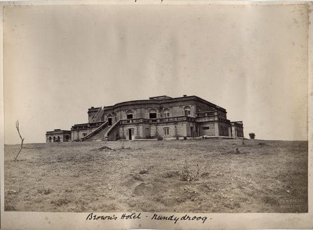 Brown S Hotel In Nandi Hills Or Nandidurg The Chikkaballapur District Of Karnataka C1880