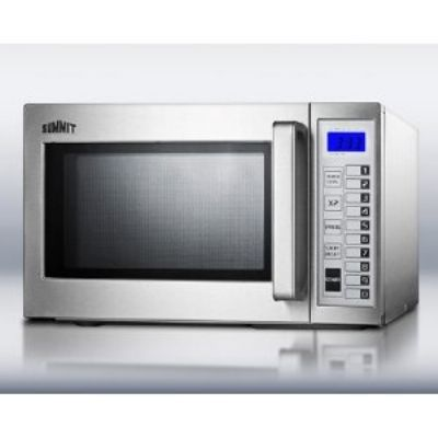 Summit Scm1000ss 1000w Commercial Microwave With Touch Pad 115v
