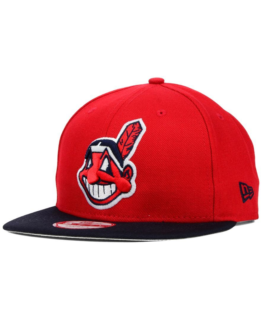 New Era Cleveland Indians 2 Tone Link 9fifty Snapback Cap Reviews Sports Fan Shop By Lids Men Macy S Cleveland Indians New Era Snapback Cap