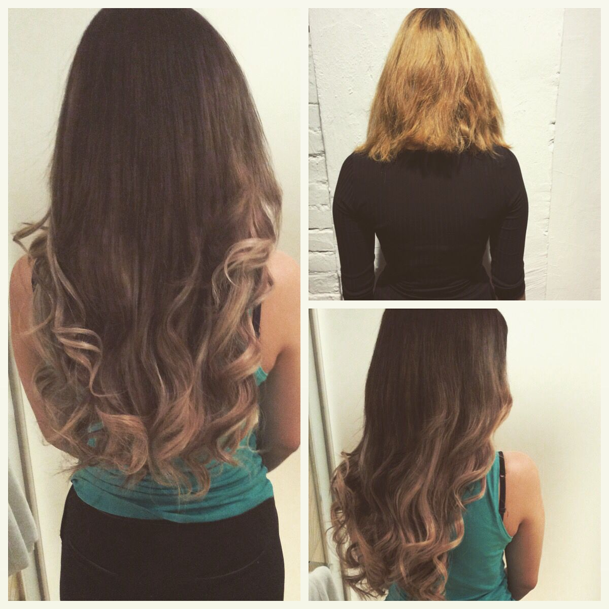 Hair from Short to long with a Brondebaleyage