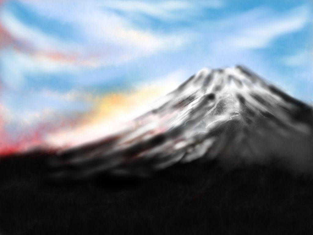 Fuji: original work on Ipad