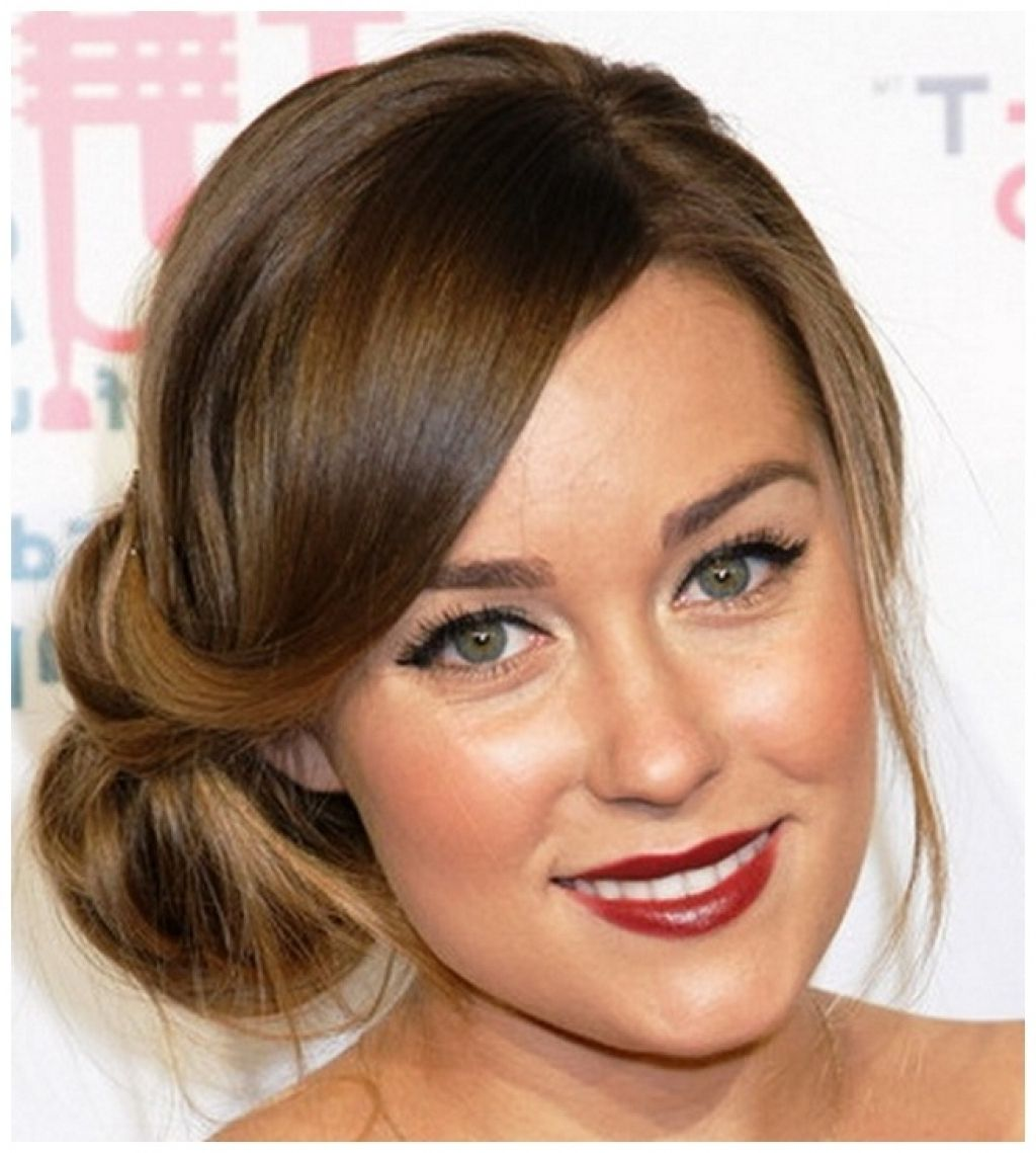 side braided updo wedding guest hairstyles for long hair ...