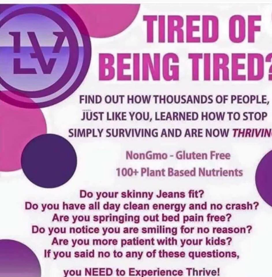 Ready to make a change in your life? Http://punkysbrain.le-vel.com