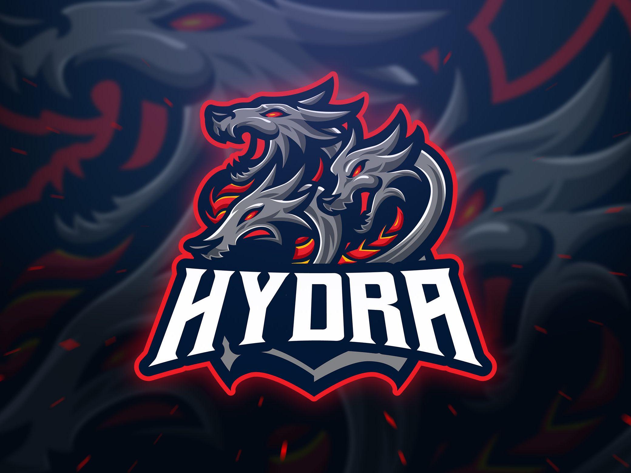 Hydra Sport And Esport Logo Logo dragon, Logo templates