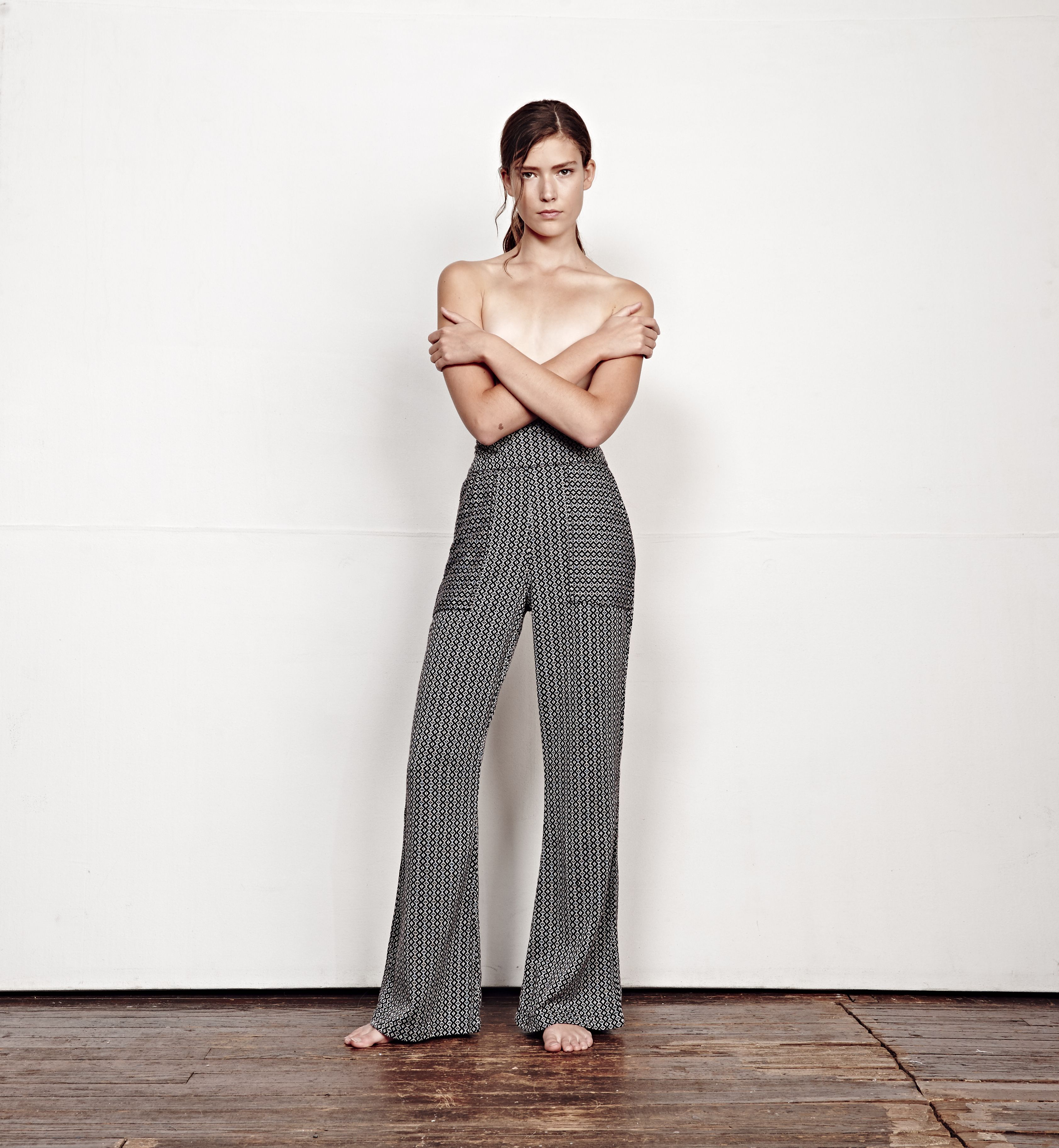 ace&jig spring 16 collection pacific pant in moonstone