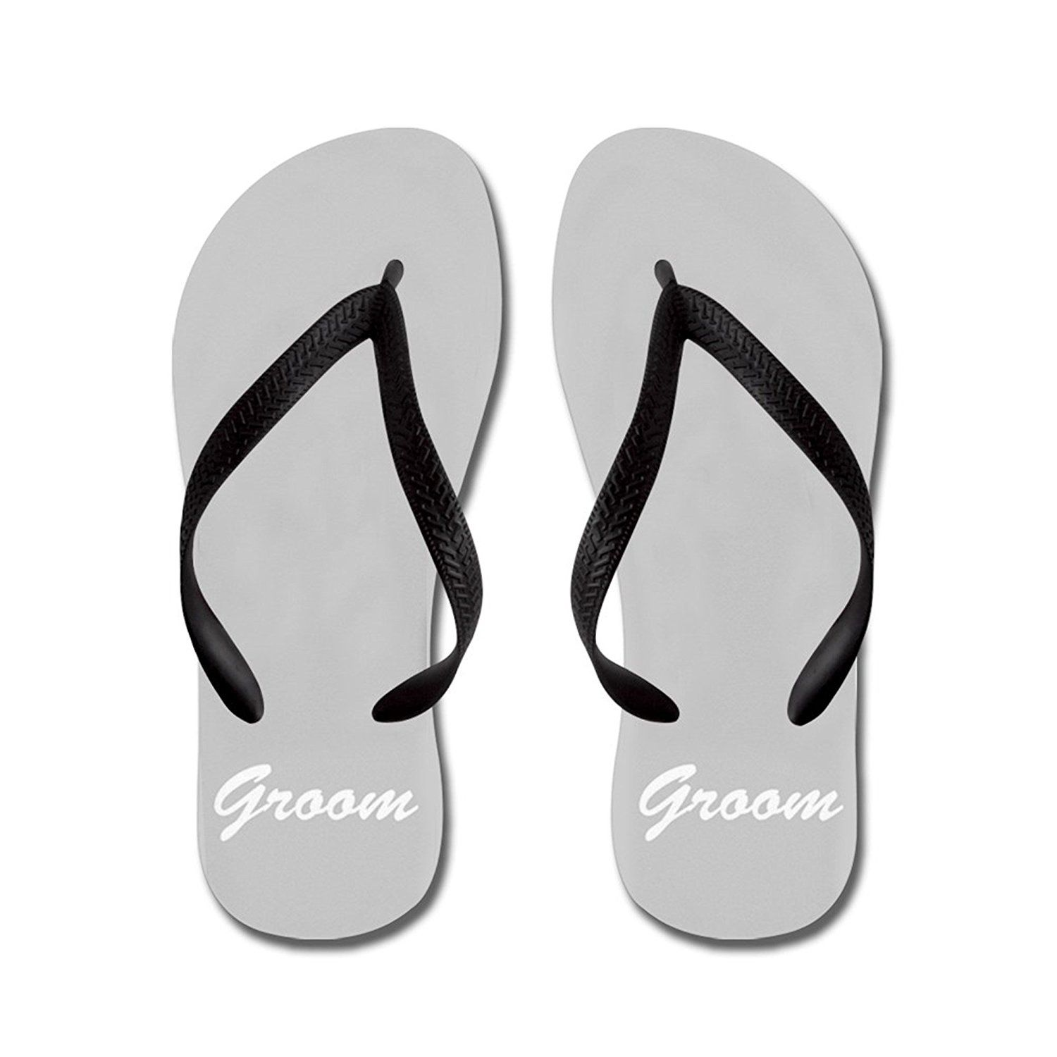 6aa0e2998 Maliyna Bride and Groom Flip Flops for Him    Want to know more ...