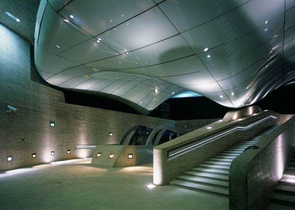 Shell And Shadow For Nordpark Railway Stations In Innsbruck, Austria / Zaha Hadid Architects