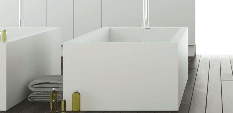 Vasca Da Bagno Quadrata.Vasca Da Bagno Quadrata 20 Modelli Da Appoggio E Da Incasso Bagni