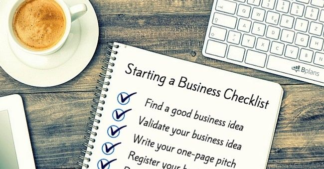 Business Startup Checklist Business, Business plan sample and - business plan samples