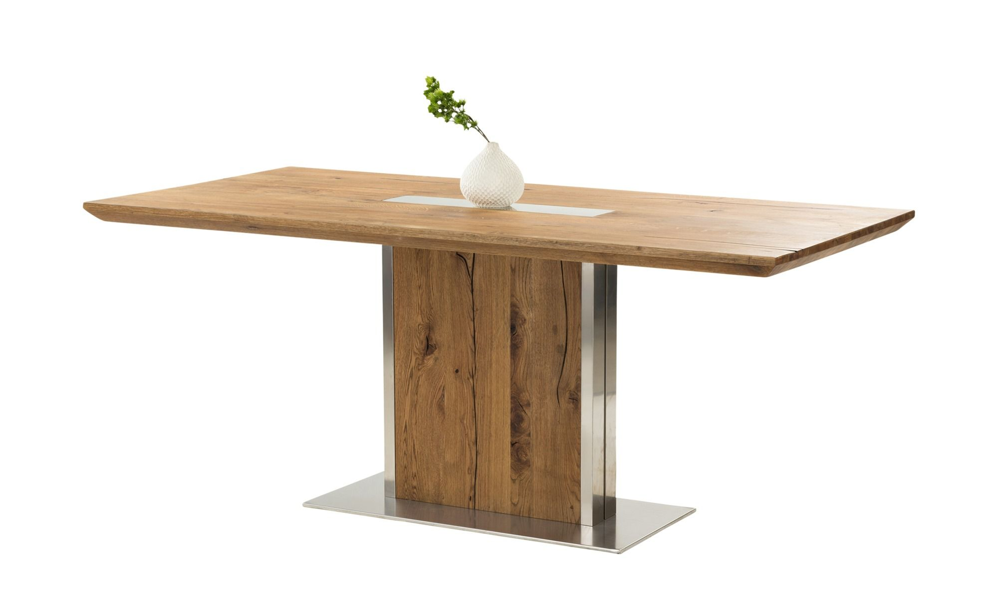 Esstisch Eiche Edelstahl Gilberto Mobel Hoffner Oak Dining Table Dining Table Table