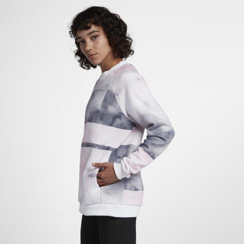 Hurley Sleeve WhiteProducts Women's Crew Fleece Washed Long QErxedoCBW
