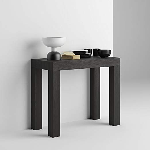 Mobilifiver Table Console Extensible First Chêne 90 X 45 X 75 Cm