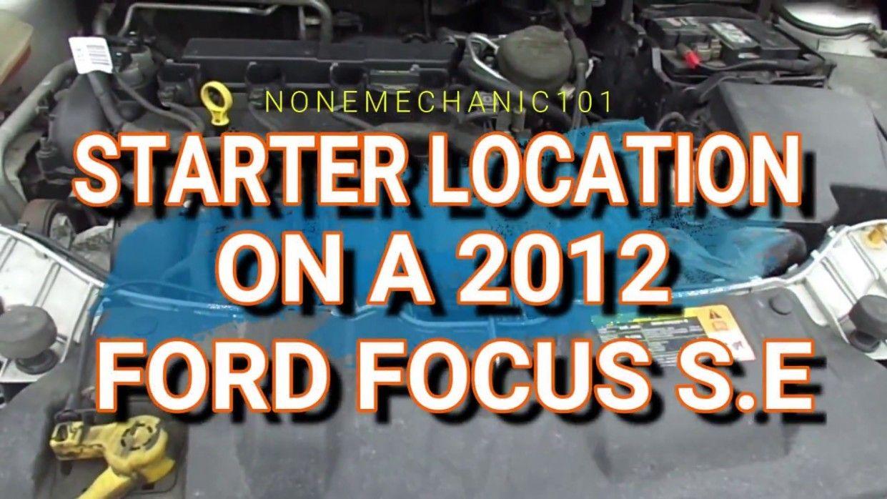 Ford Focus Engine Diagram Video Di 2020