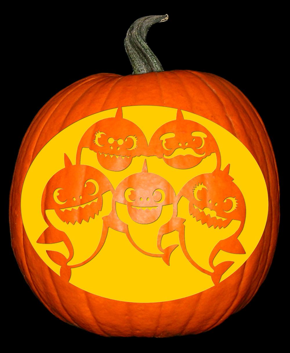 baby shark pumpkin - Google Search   Pumpkin carving ...