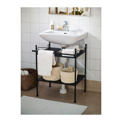 RÖNNSKÄR Waschbeckenregal IKEA Eine gute Lösung bei wenig Platz - badezimmer online gestalten
