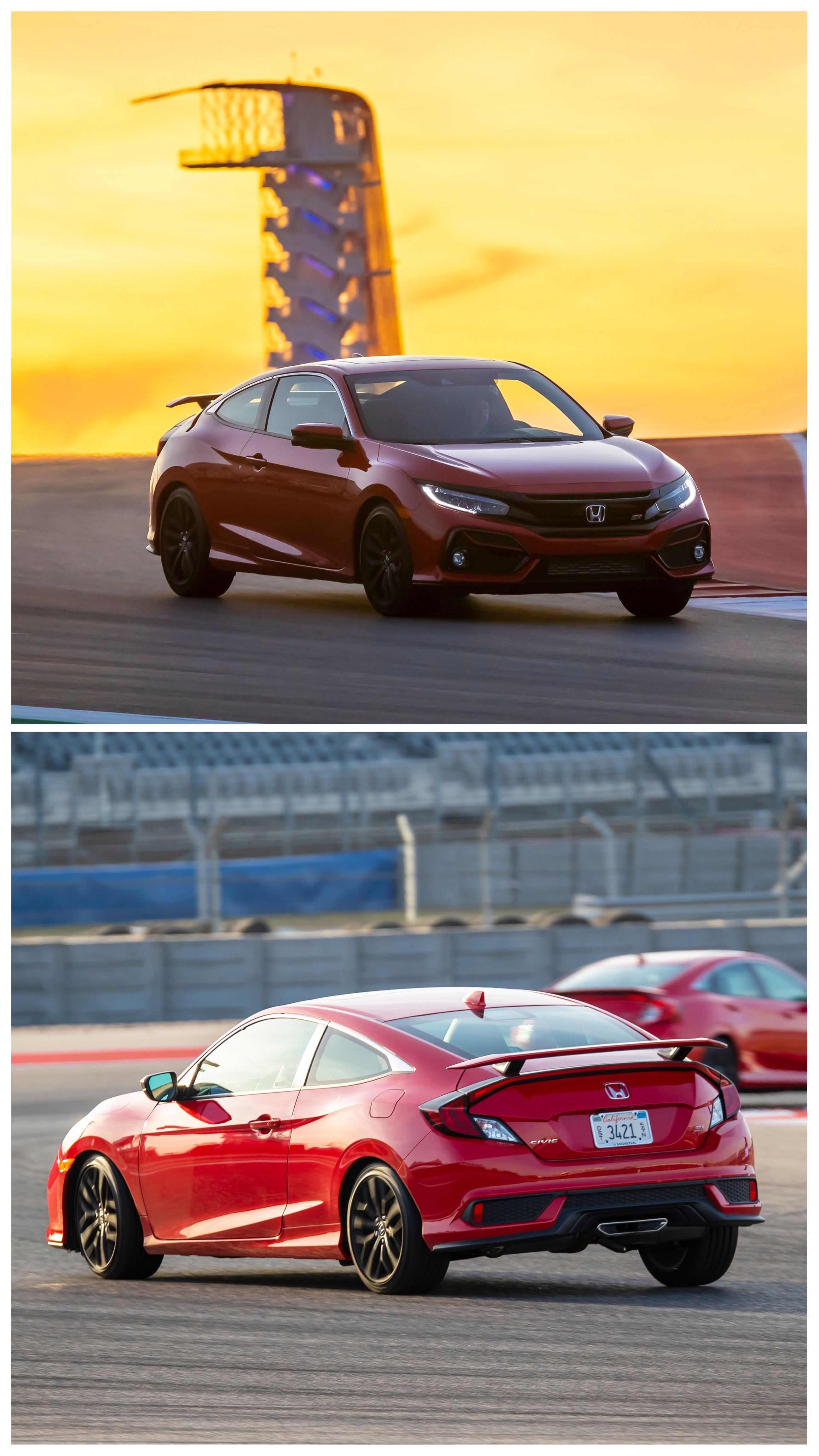 2020 Honda Civic Si Coupe and Sedan Review Honda civic