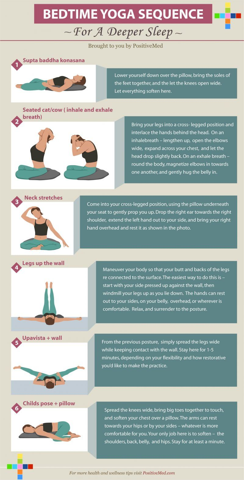 bed time yoga sequence for a deep sleep