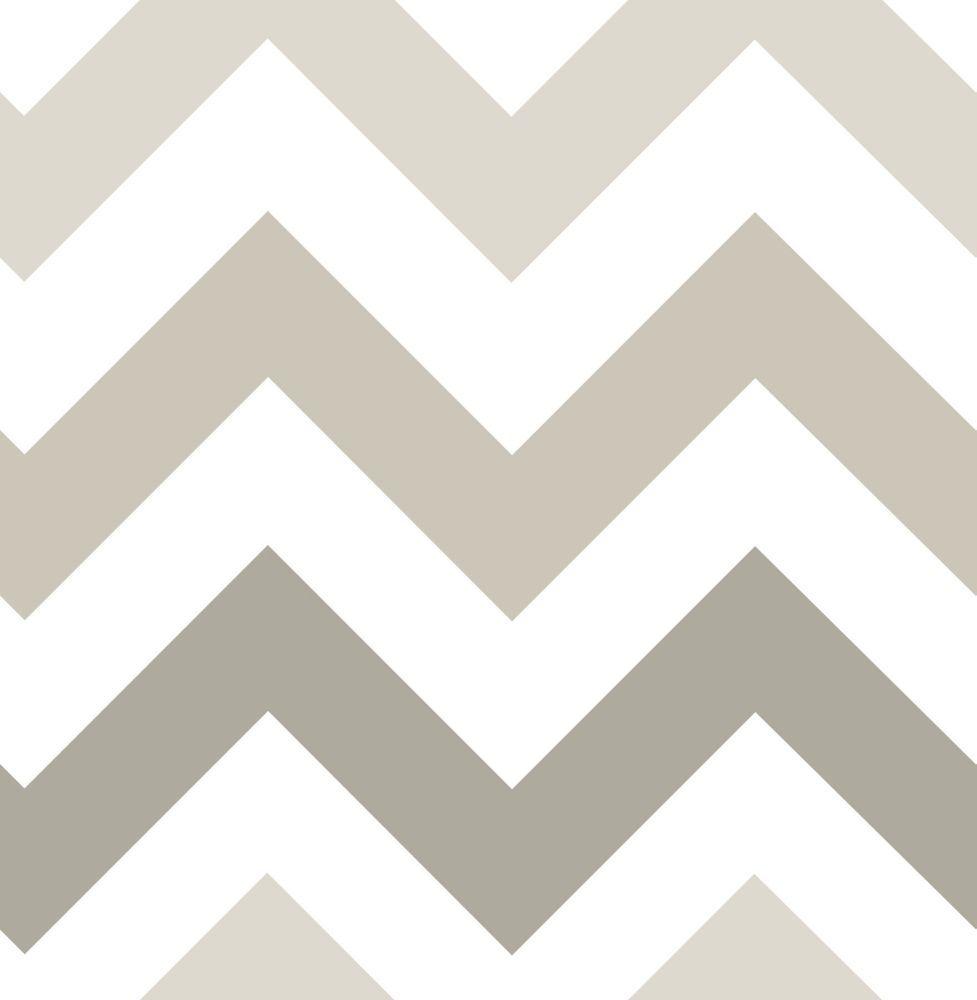 Taupe Zig Zag Peel And Stick Wallpaper Peel And Stick Wallpaper Zig Zag Wallpaper Nuwallpaper