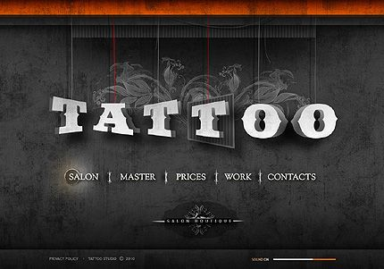 17+ images about Tattoo Website Design on Pinterest | Fashion ...